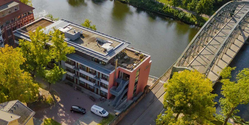 Stiftung Hospital St. Cyriaci et Antonii – Betreutes Wohnen mit Personal im Gustav-Staude-Haus direkt am Fluss Saale