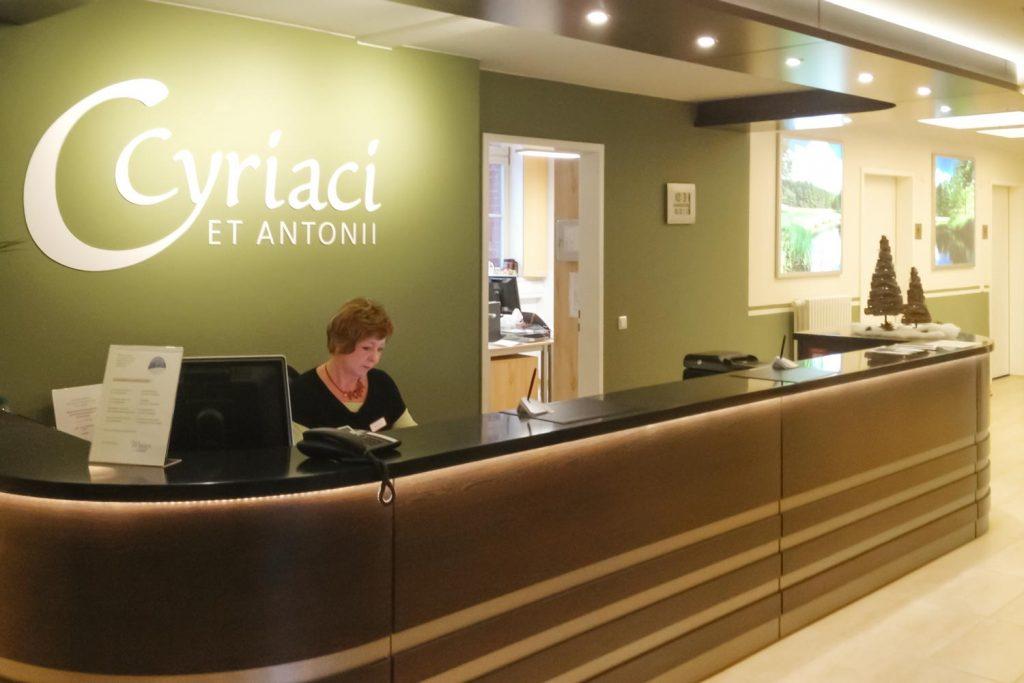 Stiftung Hospital St. Cyriaci et Antonii – Betreutes Wohnen wie im Hotel Personal im Richard-Robert-Rive-Haus